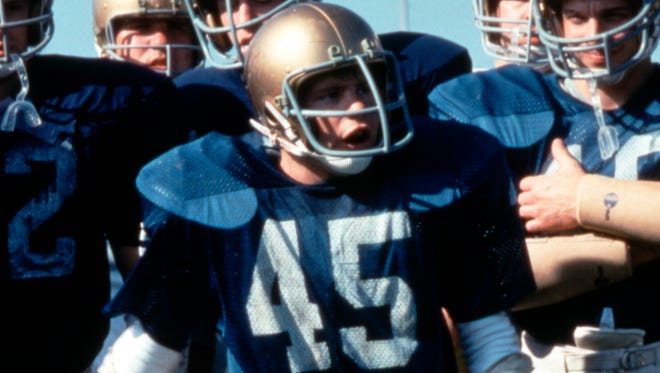"""Actor Sean Astin portrayed Notre Dame football player Rudy Ruettiger in the movie """"Rudy."""""""