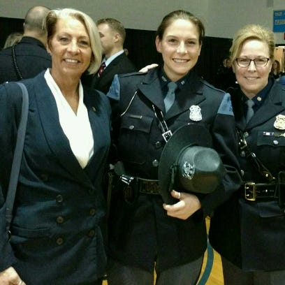The recent graduation of Michigan State Police Trooper