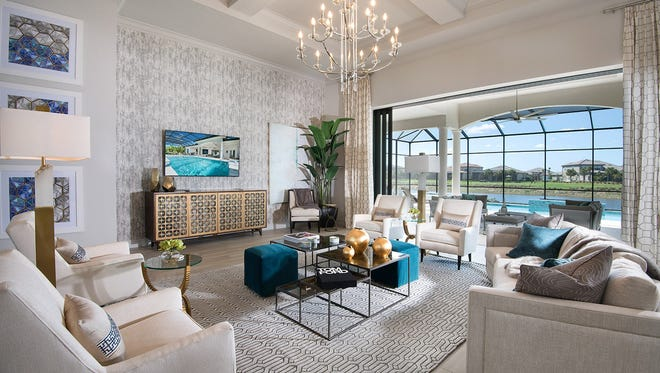 Clive Daniel Home has completed interiors for Stock's Regency Manor model.