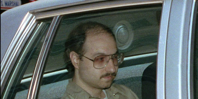 Jonathan Jay Pollard is driven away from U.S. District Court  in Washington after he pleaded guilty to selling classified U.S. government documents to Israel in this 1986 file photo.