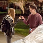 """Cara Delevingne is the alluring Margo and Nat Wolff is nerdy Q in """"Paper Towns."""""""