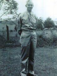 U.S. Army Air Force Sgt. Robert Eugene Shultz grew