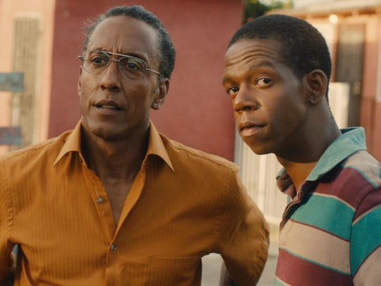 """""""Hunter Gatherer,"""" starring Andre Royo, left, and George"""