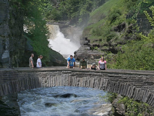 Summer bucket list letchworth state park - Letchworth state park swimming pool ...