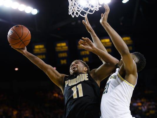 NCAA Basketball: Purdue at Michigan