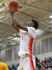 Deer Park's Jalen Rose lays up the ball in the OHSAA