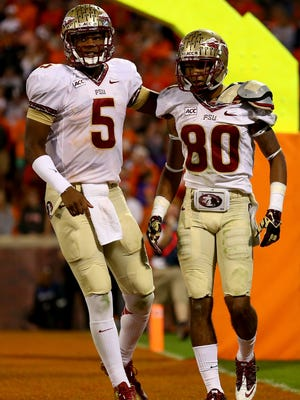 Quarterback Jameis Winston (8) and wide receiver Rashad Greene were two of Florida State's most productive players in 2013.