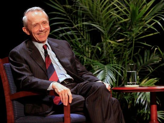 Retired Justice David Souter in September 2012.
