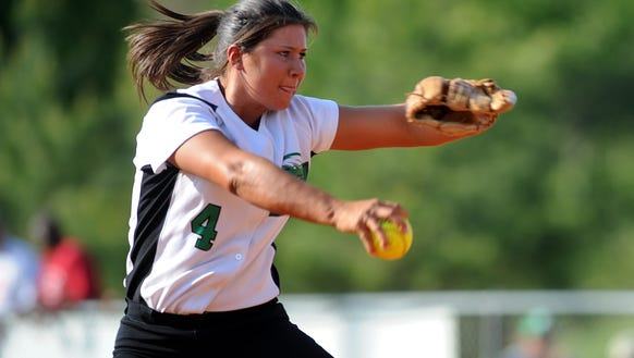 Haley Workman (Class of 2008), an all-state pitcher