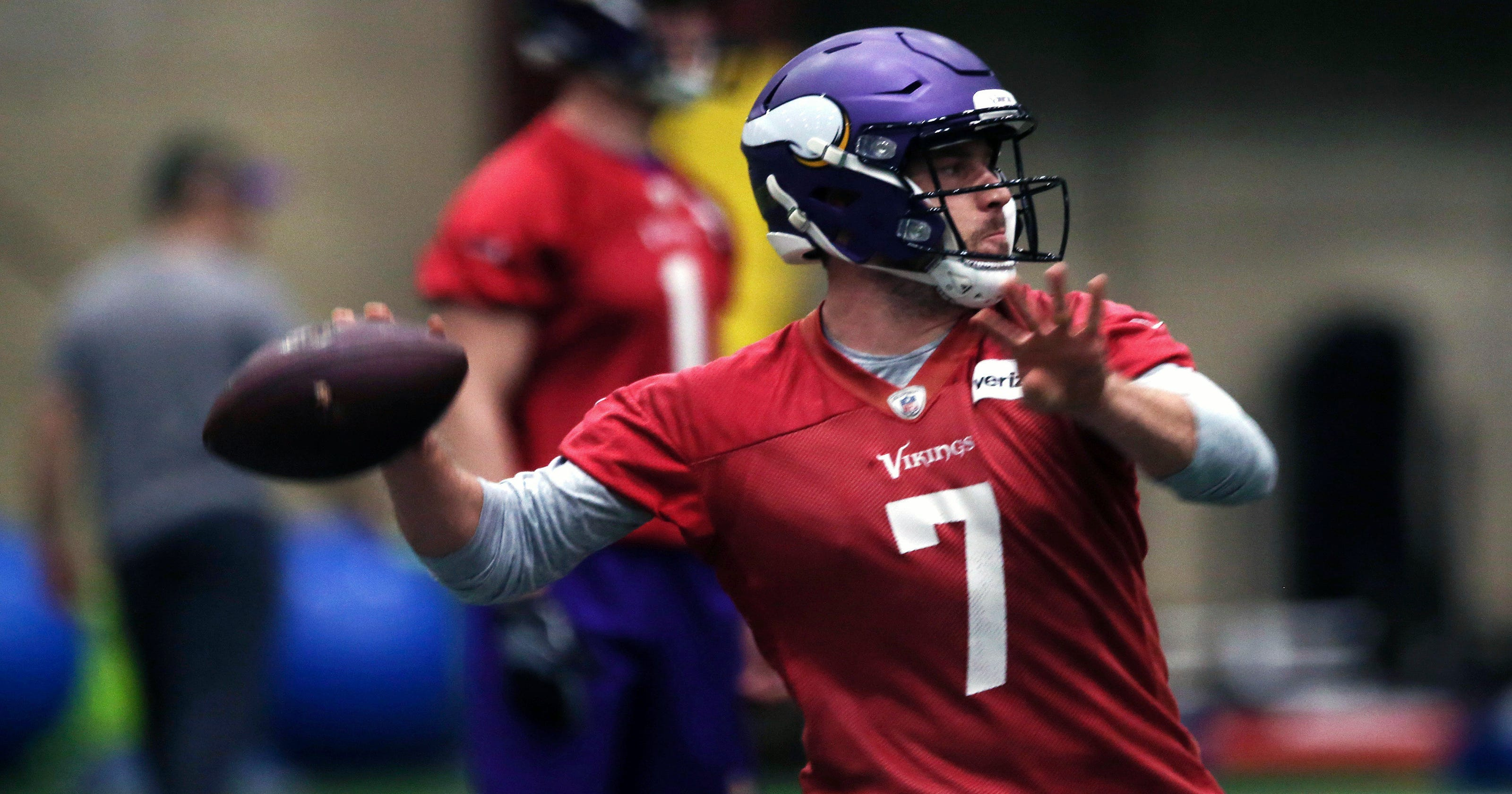 save off eff9f 526ad The case for Keenum: Vikings QB keeps on disproving doubters