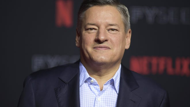 Ted Sarandos, Netflix chief content officer, was named co-CEO of the company last week.