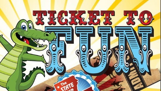 Enter to win tickets to the State Fair of Louisiana.