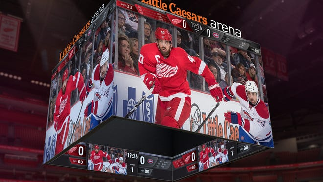 Brookings-based Daktronics is making a world-record center-hung scoreboard for Little Caesars Arena in Detroit. The Arena is home to the Red Wings hockey team and the Pistons basketball team.