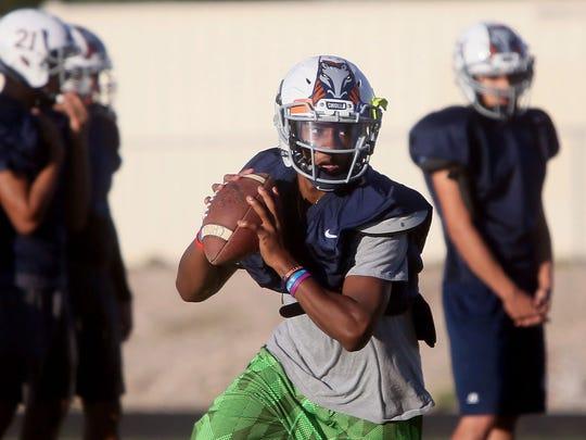 Tucson Cholla quarterback Jordan Porter has helped