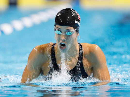 maya dirado looks beyond swimming rio olympics