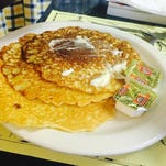 A pancake stack from Cove Inn Coffee Shop in Naples.