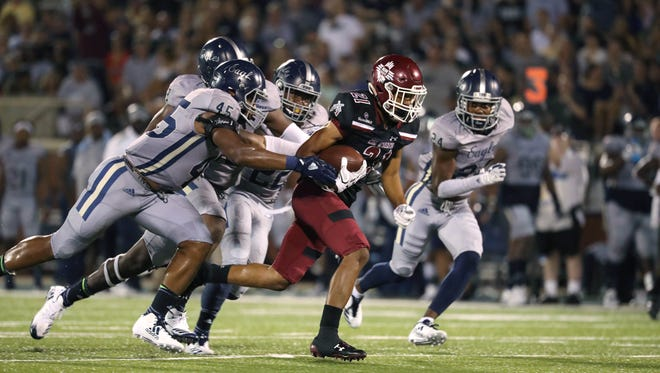 New Mexico State played at Georgia Southern on Saturday in a Sun Belt Conference game.