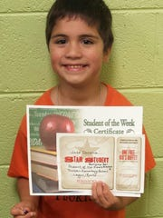 Dickson Elementary Student of the Week, Sept. 28 -