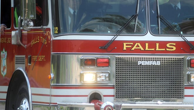 The sheriff's office is investigating an employee at the Falls Township Fire Department after officials reported a possible embezzlement.