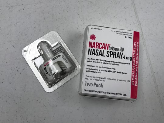 Narcan nasal spray is an easy way to administer the