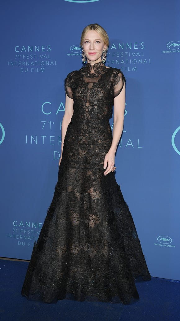 Jury president Cate Blanchett arrives at the 71st annual