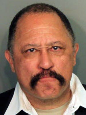 Judge Joe Brown, who was arrested and charged with five counts of contempt of court in Tennessee on Monday, March 24, 2014.  Shelby County Juvenile Court officials said the 66-year-old was sentenced to five days in jail after causing an outburst Monday in a courtroom hearing. The former TV show star is running for Shelby County District Attorney General.