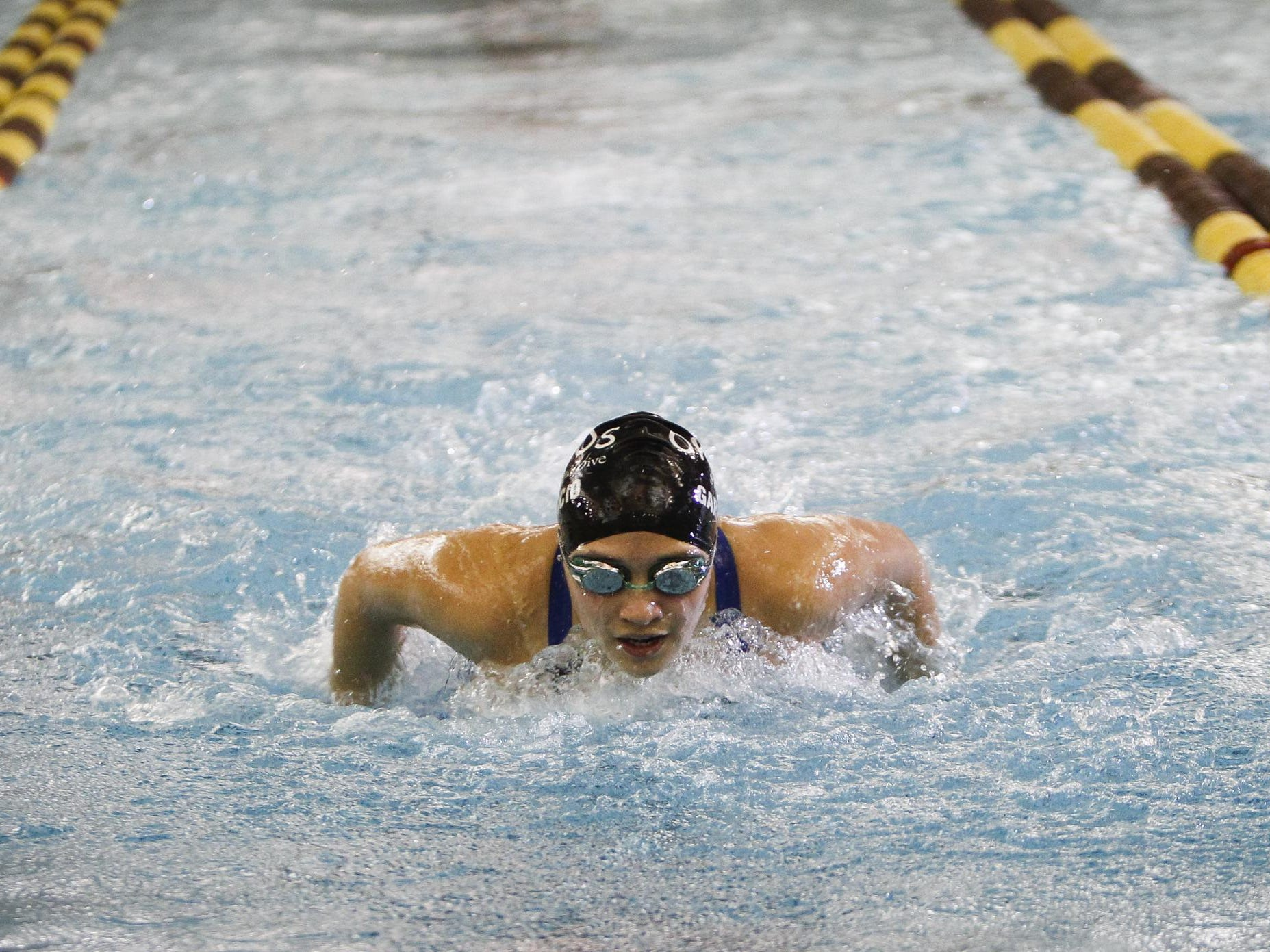 Okemos' Freyja Garbaccio currently has the best 200 individual medley time in the Greater Lansing area.