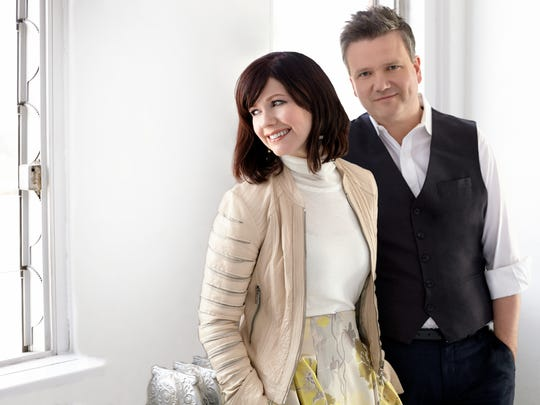 Kristyn and Keith Getty are a Nashville-based musical duo who write modern hymns.