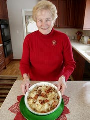 Mary Flaherty makes a pork and sauerkraut dish every year for Christmas.