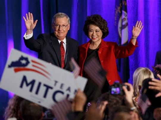 Senate Minority Leader Mitch McConnell of Kentucky,