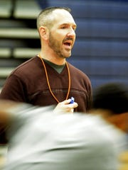 Troy Sowers enjoyed a successful 10-year run as the York High boys' basketball coach. DISPATCH FILE PHOTO