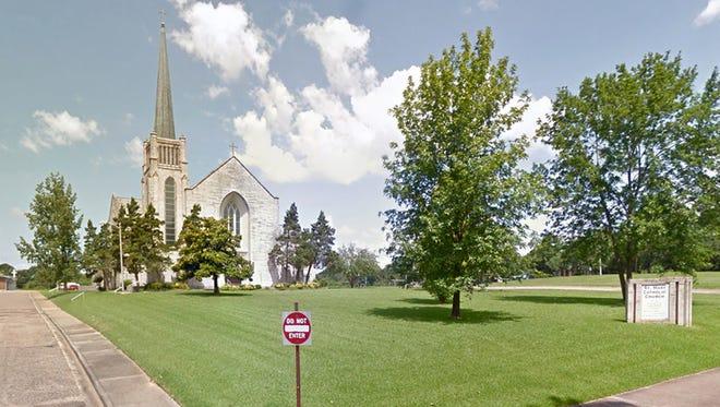 St. Mary's Catholic Church in Jackson, Miss.