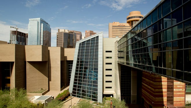 The Phoenix Convention Center in downtown Phoenix.
