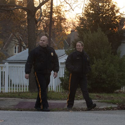 Woodbury's Police, Sgt. Bill Palese and Sgt. Kelli