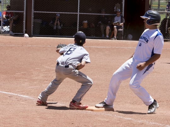 The Southern Utah Wolfpack scored 23 runs en route to resounding victory at Bicentennial Park on Thursday.