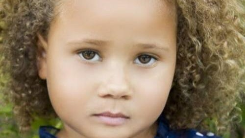 Actress Grace Colbert, who plays the little girl in a Cheerios commercial.