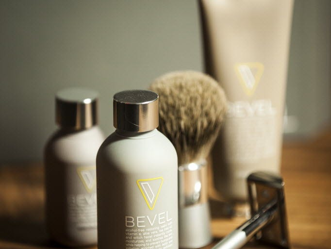 Bevel shaving products from Walker & Company Brands