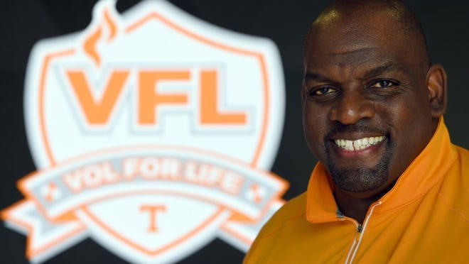 Antone Davis is the University of Tennessee football team Vol For Life director.