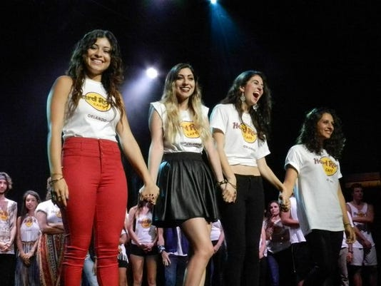 Hard Rock final 4 ladies