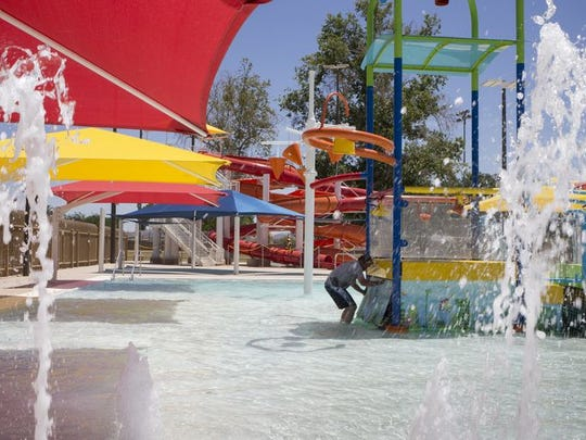 Cortez Pool's $3.3 million renovation offers new water features, including waterslides, and a kiddie pool.