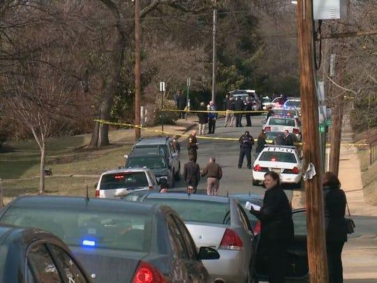 Alexandria Shooting Scene.