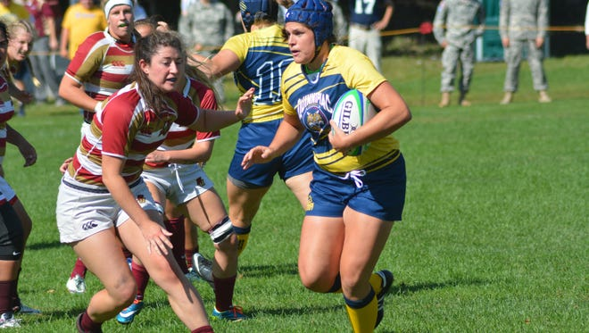 Ilona Maher, a Burlington native, will play for the U.S. squad in this month's Rugby World Cup Sevens 2018 Tournament.