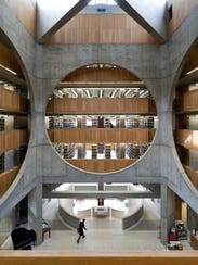 This library at Phillips Exeter Academy, Exeter, New