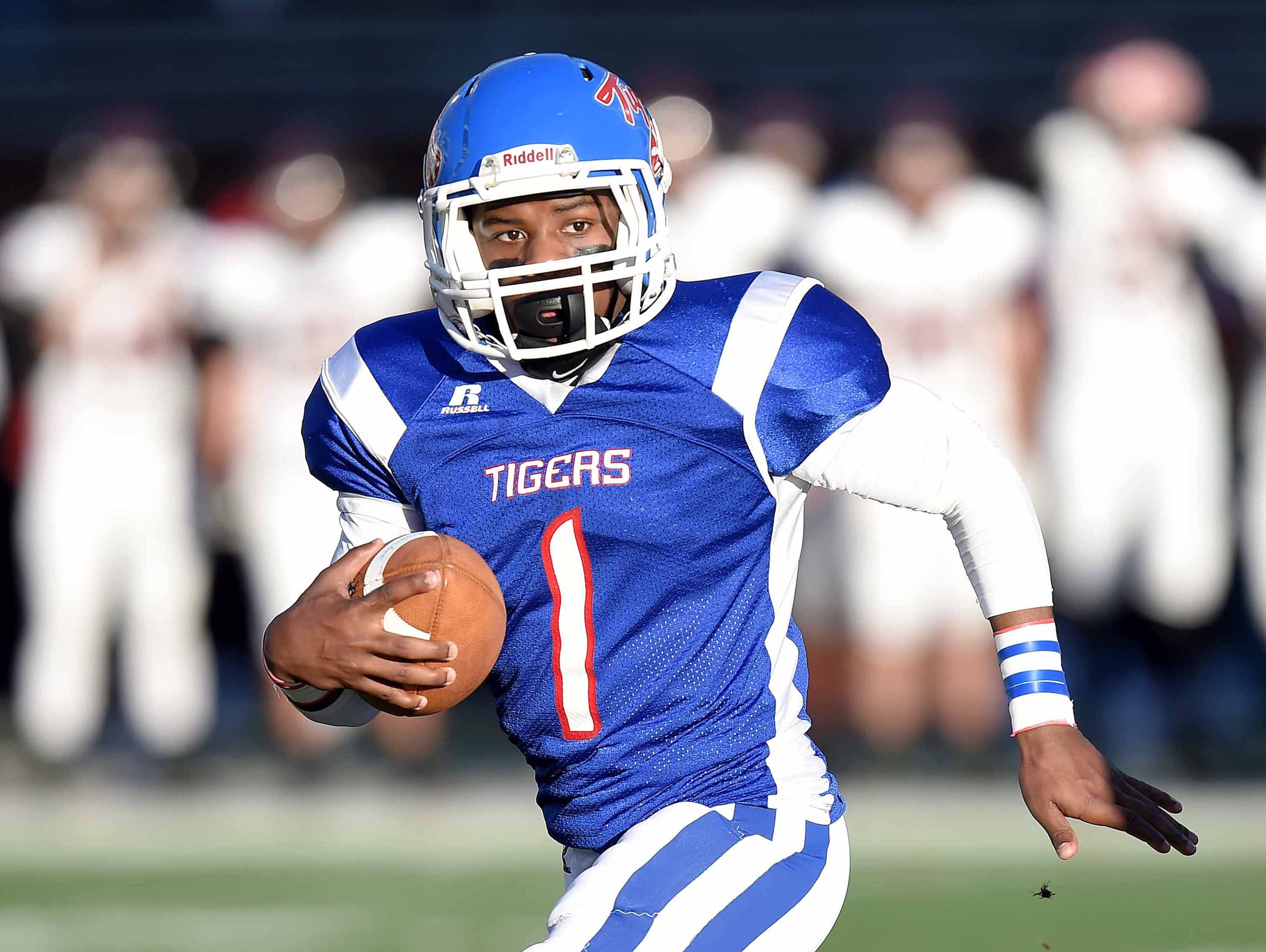 Noxubee County's Ti'Morrius Conner comes from a long line of quarterbacks who have made a big impact on the Tigers football program.