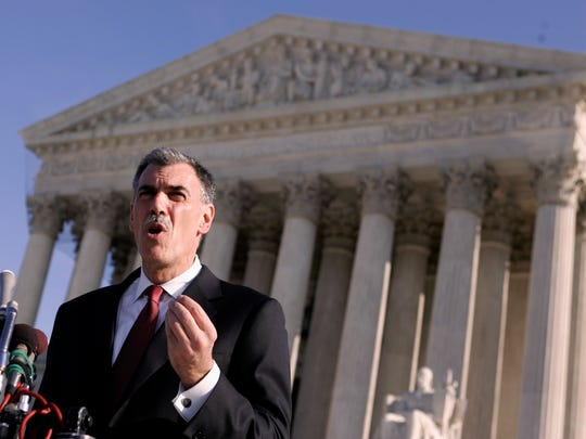 Donald Verrilli began arguing cases as an attorney