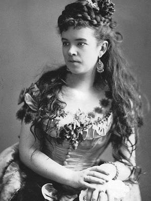 Rosa D'Erina was one of the many famous people who performed at the Cheboygan Opera House when she was in the area. Contributed photo