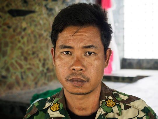 Yod Wangduangkam, a ranger at Huai Kha Khaeng Wildlife