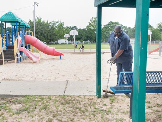 Pensacola Parks and Recreation Department employee