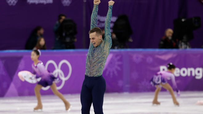 Adam Rippon will work for NBC for the second week of the Olympics.