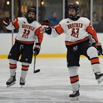 Brother Rice icers sweep arch rival CC with 4-3 victory